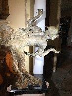 Rain Half Life Bronze Sculpture 1996 36 in Sculpture by Richard MacDonald - 4