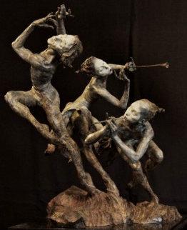 Joie De Vivre (The Music) Bronze Sculpture 1996 24 in Sculpture by Richard MacDonald