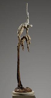 Orpheus Ascending Bronze Sculpture 2010 95 in Sculpture - Richard MacDonald