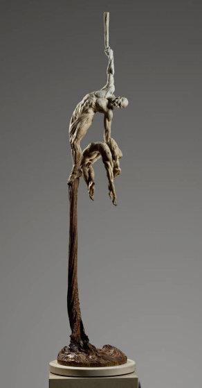 Orpheus Ascending Bronze Sculpture 2010 95 in Sculpture by Richard MacDonald