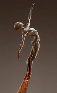Allonge Female 2/3 Life -Size - Bronze Sculpture 2012 63 in Huge  Sculpture - Richard MacDonald