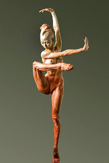 Contemporary Nude Spire IV: Clarity Bronze Sculpture 2015 37 in Sculpture - Richard MacDonald