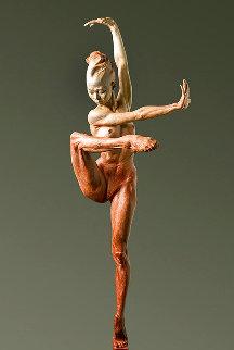 Contemporary Nude Spire IV: Clarity Bronze Sculpture 2015 37 in Huge Sculpture - Richard MacDonald