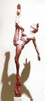 Petals and Fire Bronze Sculpture 2016 27x11 Sculpture - Richard MacDonald