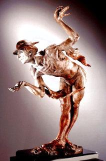 Rain, Half Life Bronze Sculpture  1995/36 in Sculpture - Richard MacDonald