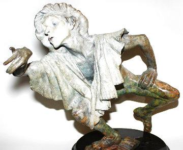La Fuite Du Temps Bronze Sculpture 15 in Sculpture - Richard MacDonald