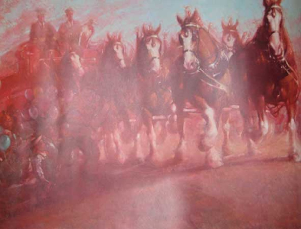 Anheuser Busch Clydesdales 1989 Limited Edition Print by Richard MacDonald