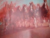 Anheuser Busch Clydesdales 1989 Limited Edition Print by Richard MacDonald - 0