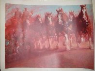 Anheuser Busch Clydesdales 1989 Limited Edition Print by Richard MacDonald - 1