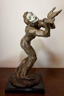 Butterfly Bronze Sculpture 1989 21 in Sculpture by Richard MacDonald