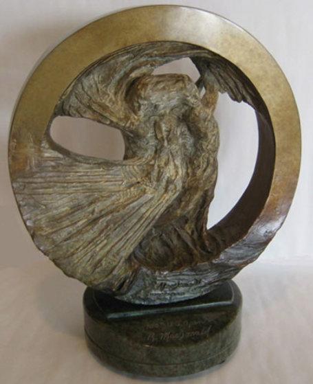 U.S. Open Golf 2000 Study I Bronze Sculpture  Sculpture by Richard MacDonald