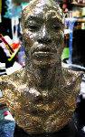Latin Bronze Bust Bronze Sculpture Sculpture - Richard MacDonald