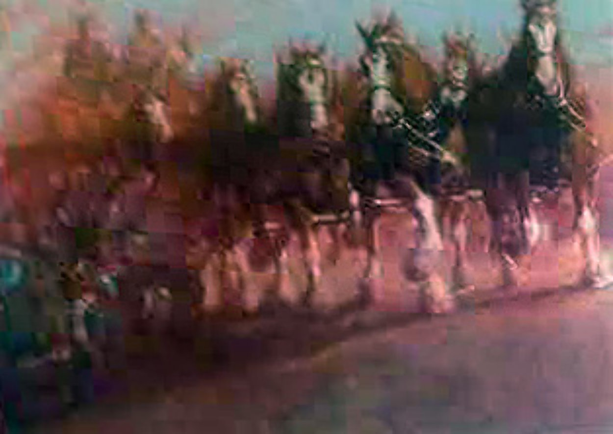 Anhauser Busch Clydesdales AP 1989 Limited Edition Print by Richard MacDonald