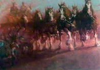 Anhauser Busch Clydesdales AP 1989 Limited Edition Print by Richard MacDonald - 0