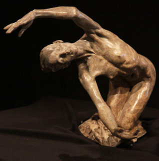 Dawn (The Awakening) Bronze Sculpture 1996 19 in  Sculpture by Richard MacDonald
