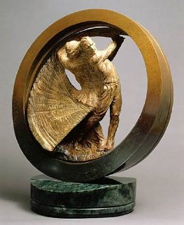 US Open Study II Bronze Sculpture 1999 24 in Sculpture - Richard MacDonald