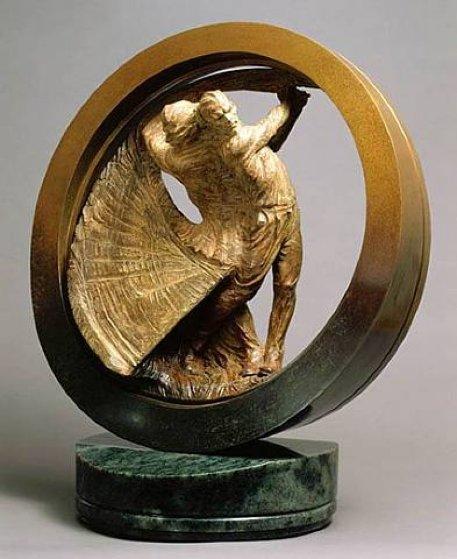 US Open Study II Bronze Sculpture 1999 24 in Sculpture by Richard MacDonald
