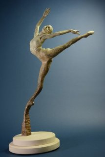 Sissone,  Bronze Sculpture 2010 Sculpture by Richard MacDonald