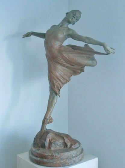 Dance the Dream Bronze 1/2 Life Size Bronze Sculpture 2007 Sculpture by Richard MacDonald