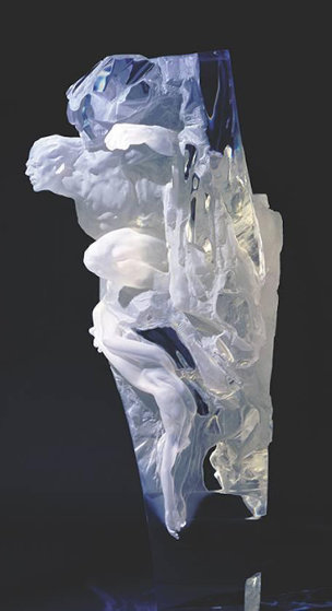 Orpheo Acrylic Sculpture AP 1994 Sculpture by Richard MacDonald