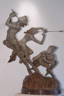 Joie De Vivre Bronze Sculpture 2000 56 in Sculpture by Richard MacDonald