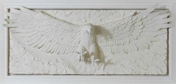 Grandeur Bonded Sand Sculpture 1992 39x72 Sculpture - Bill Mack