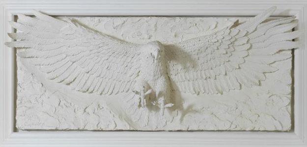 Grandeur Bonded Sand Sculpture 1992 39x72 Sculpture by Bill Mack