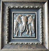 Stampede Bonded Bronze Sculpture 2006 41x28 Huge Sculpture by Bill Mack - 1