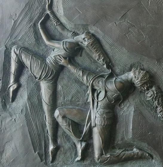 La Pari Suite 1 and 2 Bronze Sculpture 1985  Sculpture by Bill Mack