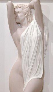 Bather  Bonded Sand Sculpture 2013 33x77 Sculpture - Bill Mack