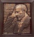 Tchaikovsky Bonded Bronze Sculpture 1997 40x35 Sculpture - Bill Mack