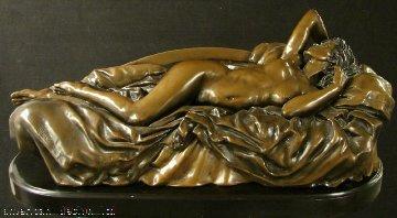 Tranquility Bonded  Bronze Sculpture 1994 65x26 Sculpture - Bill Mack