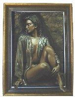 Dimensional Adorned  Bronze Sculpture 2000 37 in Sculpture by Bill Mack - 1