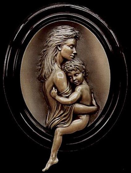 Cherish Bonded Bronze Sculpture 2001 Sculpture by Bill Mack
