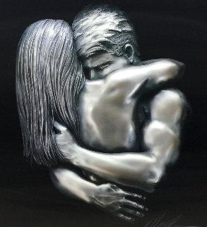 Love Virtual Sculptural Relief 2007 34 in  Sculpture - Bill Mack
