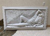 Radiance Bonded Sand Sculpture 1990  Huge 30x63 Sculpture by Bill Mack - 4