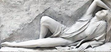 Radiance Bonded Sand Sculpture 1990  Huge 30x63 Sculpture - Bill Mack