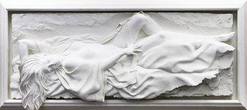 Affection Bonded Sand Sculpture 1996 68 in Sculpture - Bill Mack