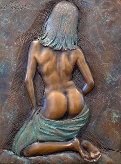 Composure Bronze Sculpture 2004 24 in Sculpture by Bill Mack