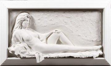 Fascination Bonded Sand Sculpture 1991 61 in Sculpture - Bill Mack
