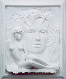 Visions Bonded Sand Sculpture 1993 47 in Sculpture by Bill Mack