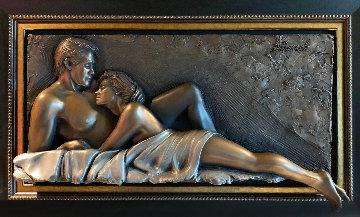 Forever Remembered Bronze Sculpture 2013 32x53 Sculpture - Bill Mack