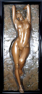 Charisma Bronze Sculpture 73x29 in Sculpture - Bill Mack