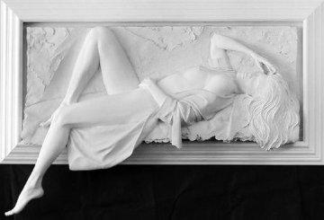 Symphony Bonded Sand Sculpture 1996 34x68 Sculpture - Bill Mack