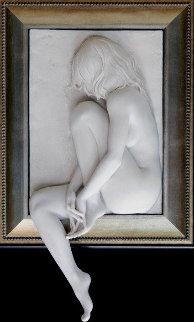 Longing Bonded Sand Sculpture 2009 49x30 Sculpture - Bill Mack