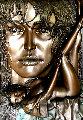 Rapture Bronze Relief Sculpture 1996 48 in Sculpture - Bill Mack