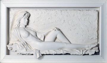 Fascination Bonded Sand Sculpture 1991 73 in Sculpture - Bill Mack