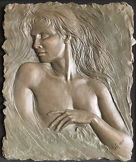 Dreams Bonded Bronze Sculpture 2013 16x12 Sculpture - Bill Mack
