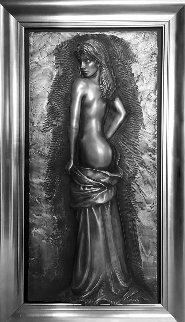 Elegance Bonded Stainless Steel Sculpture 2006 45x20 Sculpture by Bill Mack
