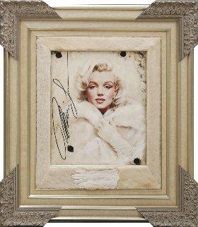 Legend in Mink Marilyn Monroe 2016 42x37 Super Huge Original Painting - Bill Mack